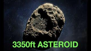 Huge *Equinox Asteroid* to CROSS Earth's Path in LESS than a WEEK! Blazing by Earth at 76,000 mph!!