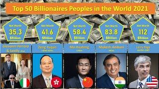 Forbes List 2021 -  Top 50