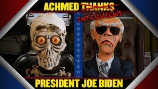 Achmed thanks President Joe Biden