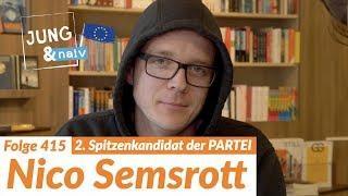 Nico Semsrott (Die PARTEI) über seine Politik und seinen persönlichen Werdegang