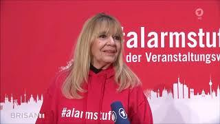 Alarmstufe Rot-Demo in Berlin - Brisant, ARD, 28.10.2020