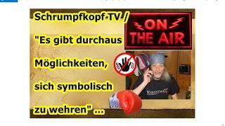 """Trailer: Schrumpfkopf TV / """"Es gibt Möglichkeiten, sich symbolisch zu wehren"""" ..."""