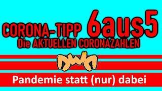 Corona Zahlen Tipp Lotto Wettschein 6 aus 5 6aus5 Dancing with Demons DWD
