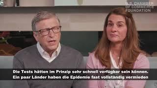"""Bill Gates: """"der neue Virus wird Aufmerksamkeit erregen"""""""