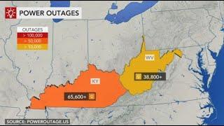 ICE STORMS/100,000 without Power. Could Last for Days!