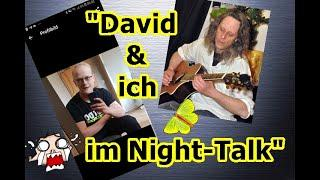 """""""David & ich im nächsten Night-Talk!!!"""" ..."""