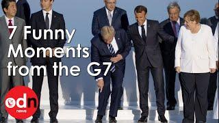 7 Funny Moments at he G7 in Biarritz