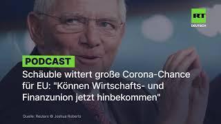 Schäuble bestätigt alle Verschwörungstheorien über das Finanz- und Wirtschaftssystem