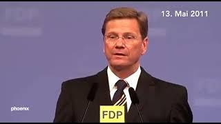 Beste Rede von Guido Westerwelle Rede 13. Mai 2011 Bürgerrechet Freiheit