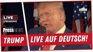 Donald Trump live auf Deutsch übersetzt 05.07.2020