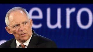"""Schäuble: """"Die Not wird die Menschen zwingen, sich zu beugen"""""""
