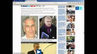 Prince Andrew Alan Dershowitz Evelyn de Rothschild Jeffrey Epstein Link