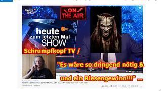 """Schrumpfkopf TV / """"Mainstream-Abschaum vom Allerbesten hier — heute-show!!!"""