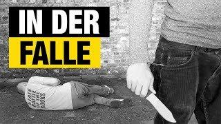 Selbstverteidigung: Angriffe mit Messer - Angreifer hat ein Messer