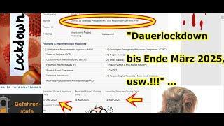 """""""Dauerlockdown bis Ende März 2025, usw.!!!"""" ..."""