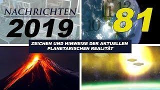 NACHRICHTEN 2019 - LED-Licht, Venezuela-USA, 5G, Angst-Ego, UFO