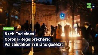 Brüssel: Nach Tod eines Corona-Regelbrechers – Polizeistation in Brand gesetzt