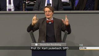 Lockdown bis April - Karl Lauterbach