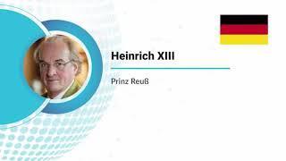 Prinz Reuß zur Souveränität Deutschlands und Welt-Frieden vor ICDAY Virtual Event l United Nations