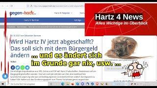 """""""Hartz IV wird zu Bürgergeld, ne Komplettverarsche usw.!!!"""" …"""