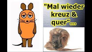 """Mal wieder kreuz & quer"" ..."