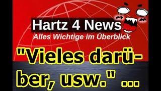 """""""Hartz 4 News — ganz schön viel wieder mit dabei!!!"""" ..."""