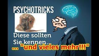 """""""Mit den simpelsten psychologischen Tricks die Welt beherrschen und vieles mehr!!!"""" ..."""