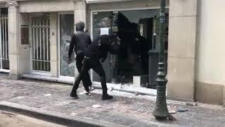 Ausschreitungen & Plünderungen in Brüssel