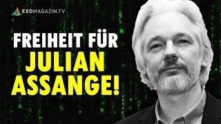 Freiheit für Julian Assange! Robert Fleischer trifft Mathias Bröckers