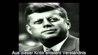 unbedingt anhören - letzte Rede von John F.Kennedy