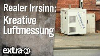 Realer Irrsinn: Kreative Luftmessung in Kiel | extra 3 | NDR