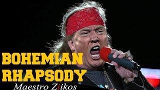 Queen – Bohemian Rhapsody mit Donald Trump