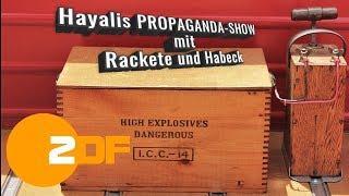Hayalis PROPAGANDA-SHOW mit Rackete und Habeck