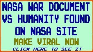 SHOCKING: NASA DEEP STATE PLANS FOR 2025 DEPOPULATION CULLING ACTUAL DOCUMENTS REVEALED!