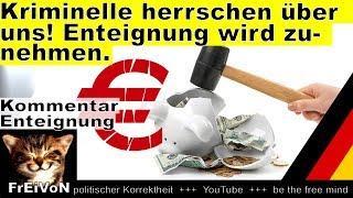 Kriminelle herrschen über uns! Enteignung wird zunehmen! Euro, EZB und C. Lagarde * Kommentar
