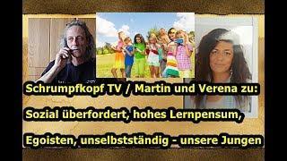 Trailer: Martin & Verena zu: Unsere überforderten Jungen/Eltern ... in vielerlei Hinsicht