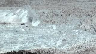 Unglaublich, wie sich Eismassen verhalten ....