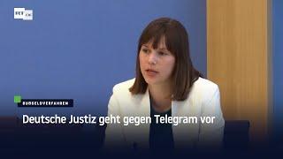 Deutsche Justiz geht gegen Telegram vor