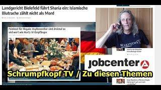 Trailer: Feinkost für Flüchtlinge, Sharia wurde eingeführt, Jobcenterabsurditäten, usw. ...