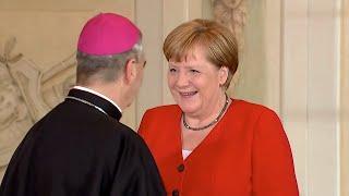 09.07.2019 - Defilee Botschafter in Deutschland bei Angela Merkel - Treffen Diplomatisches Corps