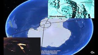 """Mysterious """"Ghost Outpost"""" BARELY Reveals Itself in Antarctica! - Found Next to a PERFECT Triangle"""