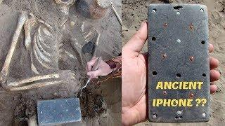 Archaeologists find 2,100-year-old iPhone -alike in Russian Atlantis Grave