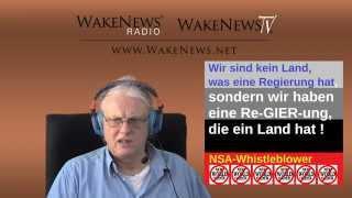 Kein Land mit Regierung, sondern eine Re-GIER-ung mit Land - Wake News Radio/TV 20150319