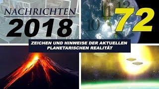 NACHRICHTEN 2018 - Gentechnik, Syrien-Ghuta, Intelligentes Stromnetz, 5G, UFO