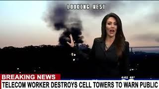 Telecom Mitarbeiter zerstört 5G-Türme und warnt uns vor den Gefahren
