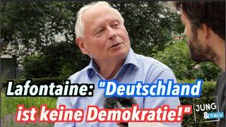 """Oskar Lafontaine: """"Deutschland ist keine Demokratie, sondern eine Oligarchie"""""""