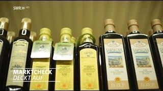 Das Geschäft mit dem Olivenöl - Marktcheck deckt auf