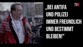 """Bodo Schiffmann auf Corona-Busstopp in Leipzig: """"Wir müssen die Angst der Menschen ernst nehmen!"""""""