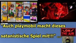 """""""Auch playmobil macht dieses satanistische Spiel mit!!!"""" …"""