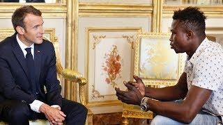 """""""Spiderman"""" who saved child dangling from Paris balcony offered French citizenship by Macron"""
